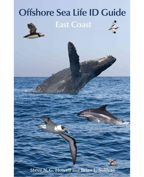 Offshore Sea Life ID Guide : East Coast (Paperback) (Steve N. G. Howell) - image 1 of 1