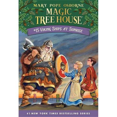 Viking Ships at Sunrise - (Magic Tree House) by  Mary Pope Osborne (Paperback) - image 1 of 1
