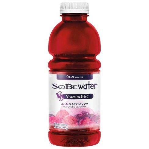 SoBe Lifewater 0 Cal Acai Raspberry Vitamin Enriched Water - 20 fl oz Bottle