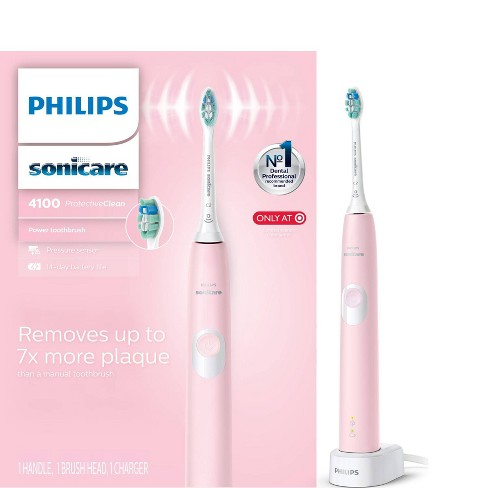 Philips Sonicare Protective Clean 4100 Plaque Control Rechargeable Electric Toothbrush - image 1 of 4