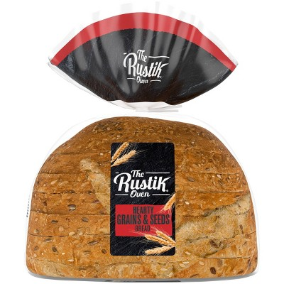 The Rustik Oven Hearty Grains & Seeds Bread - 16oz