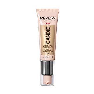 Revlon PhotoReady Candid Natural Finish, Anti-Pollution Foundation - 200 Nude - 0.75 fl oz