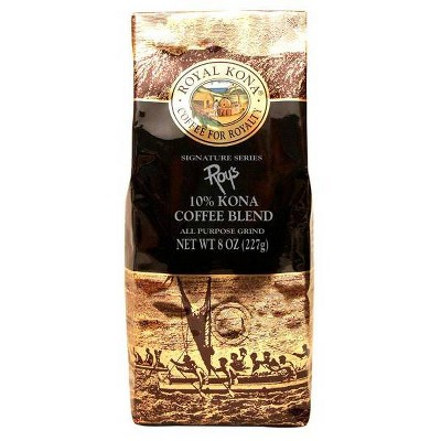 Royal Kona Roy's Ground Medium Roast Coffee - 8oz