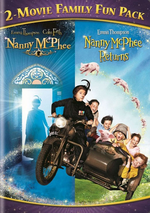 Nanny McPhee 2-Movie Family Fun Pack (dvd_video) - image 1 of 1