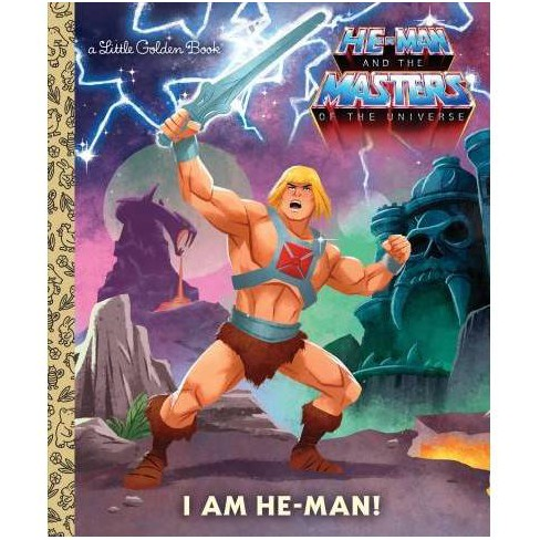 I Am He-Man! (He-Man) - (Little Golden Book) by  Frank Berrios (Hardcover) - image 1 of 1