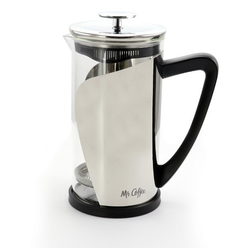 Mr Coffee Maraba 33 Ounce French Press Glass Carafe Coffee Maker With Scoop Target