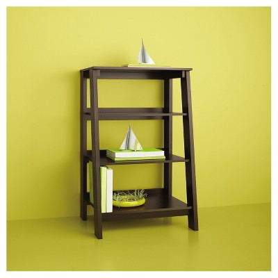 3-Shelf Trestle Bookcase Espresso - Room Essentials™