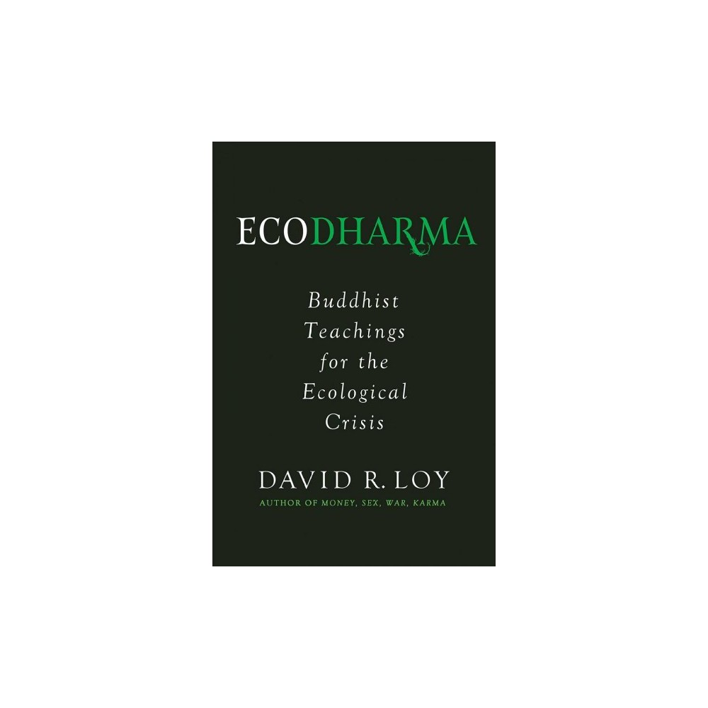 Ecodharma : Buddhist Teachings for the Ecological Crisis - by David R. Loy (Paperback)