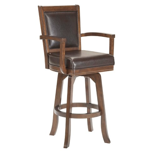 Awe Inspiring 30 Ambassador Swivel Armchair Barstool Wood Cherry Hillsdale Furniture Gmtry Best Dining Table And Chair Ideas Images Gmtryco