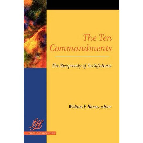 The Ten Commandments - (Library of Theological Ethics) (Paperback) - image 1 of 1