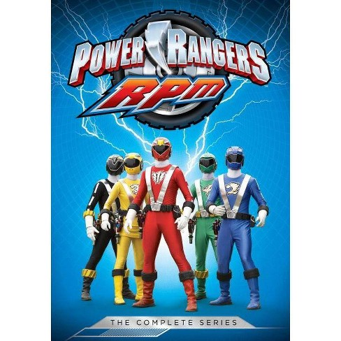 power rangers rpm the complete series dvd 2018 target power rangers rpm the complete series dvd 2018