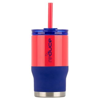 Reduce 14oz Coldee Dual Finish Water Bottle Navy/Red
