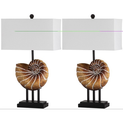 Nautilus Shell Table Lamp (Set of 2) - Safavieh® - image 1 of 4