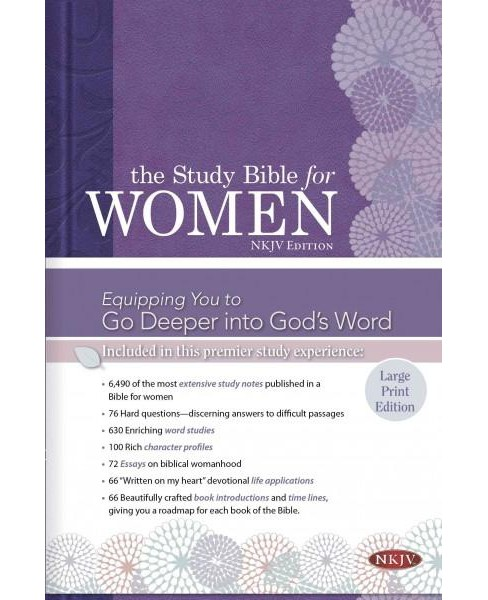 Holy Bible : Study Bible for Women, New King James Version (Indexed, Large Print) (Hardcover) (Dorothy - image 1 of 1
