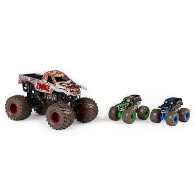 Monster Jam 3-Pack Bundle - Full Moon Frenzy - Zombie
