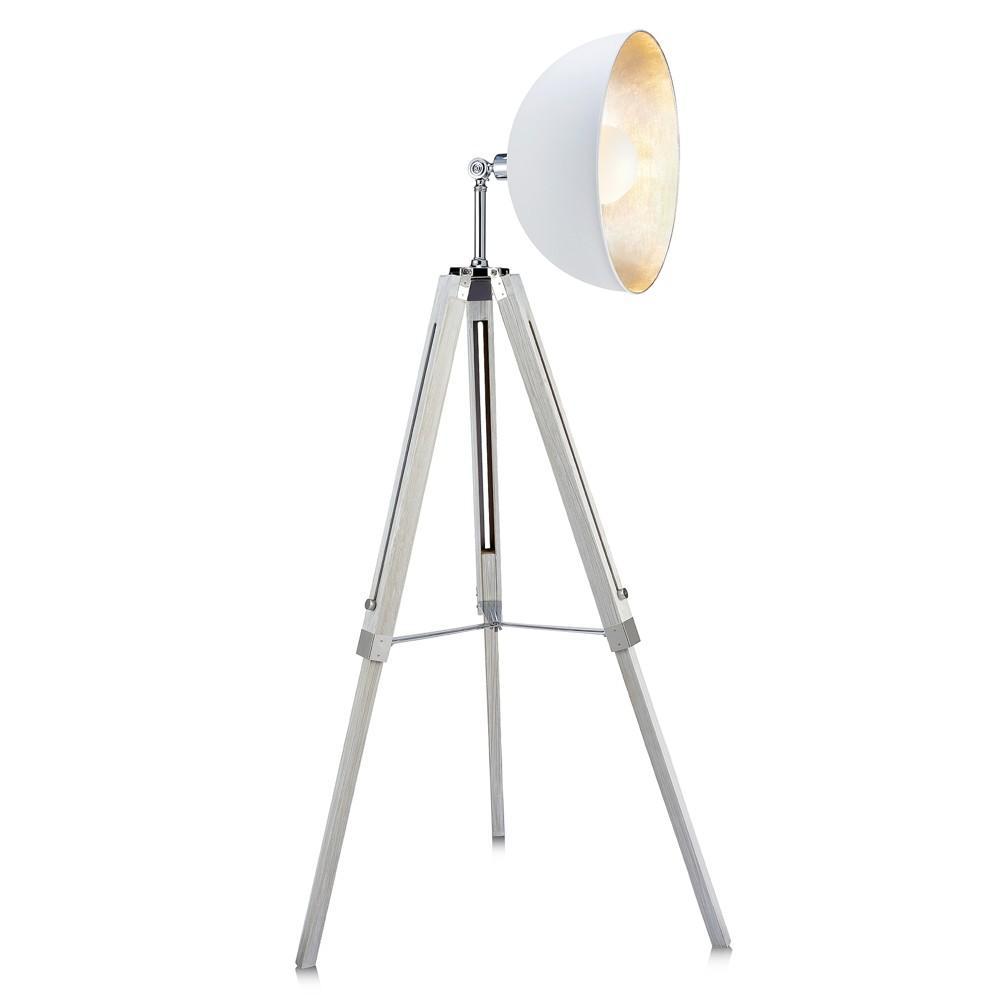 Versanora - Fascino Tripod Floor Lamp - White (Lamp Only)
