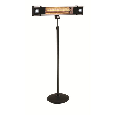 Infrared Electric Freestanding LED Outdoor Heater - EnerG+