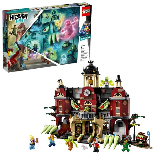 LEGO Hidden Side Newbury Haunted High School 70425 Augmented Reality School Playset with Toy App image number null