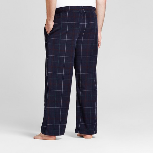 f7071623e Men s Big   Tall Fleece Pajama Pants - Goodfellow   Co™ Navy 3XBT ...