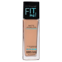 Maybelline FIT ME! Matte + Poreless Foundation - Light Shades - 1.0 fl oz