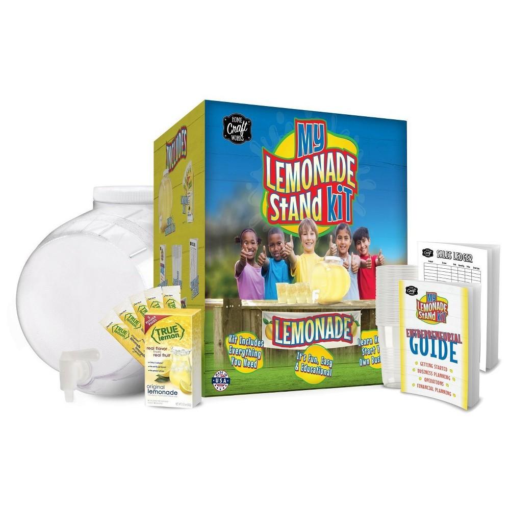 Mr. Beer Beverage Brewing And Bottling Lemonade Stand Kit, Clear