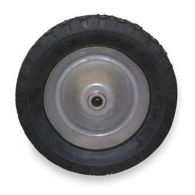 ZORO SELECT 1NXA2 Semi-Pneumatic Lawn Mowr Whel,6 in,50 lb