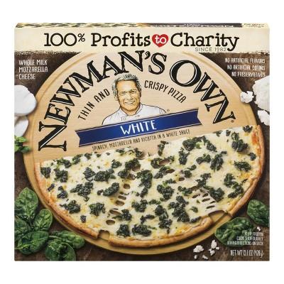 Newman's Own White Thin Crust Frozen Pizza - 15.1oz