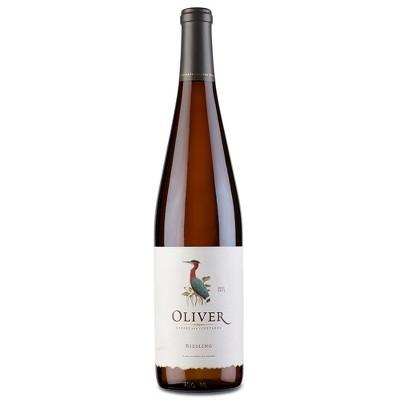 Oliver Riesling White Wine - 750ml Bottle