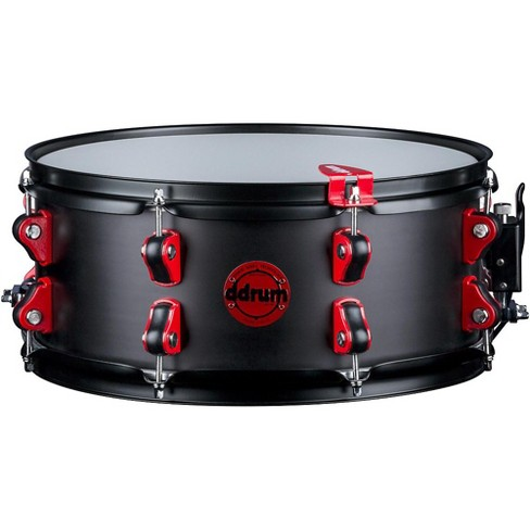 ddrum Exclusive Hybrid Snare Drum with Trigger 14 x 6 in. Black Satin - image 1 of 2