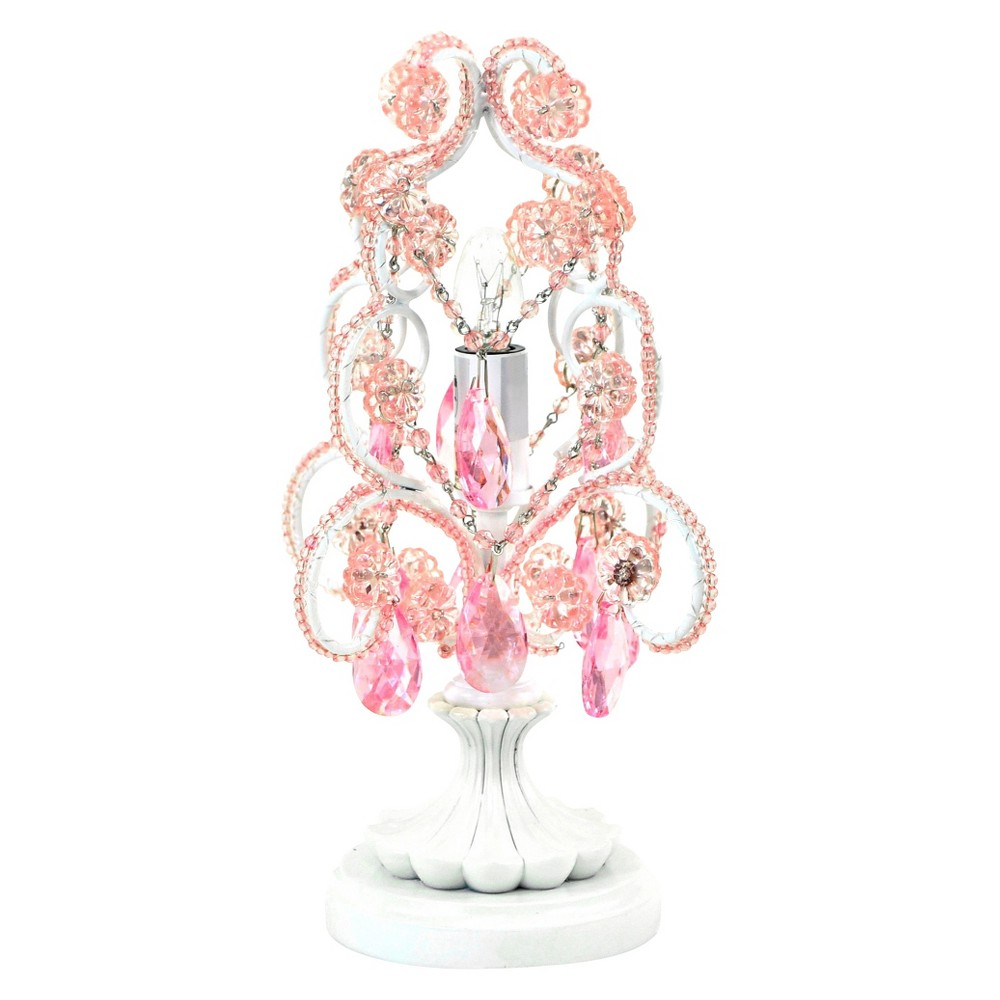 Image of Tadpoles Chandelier Table Lamp - Pink