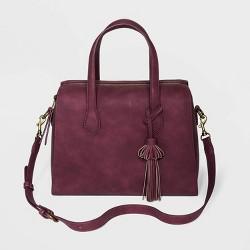 Zip Closure Satchel Handbag - Universal Thread™