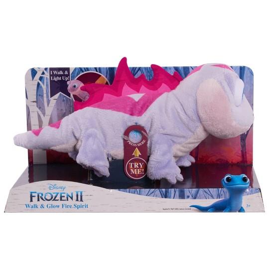Disney Frozen 2 Light-Up Walk & Glow Fire Spirit Salamander Interactive Pet image number null