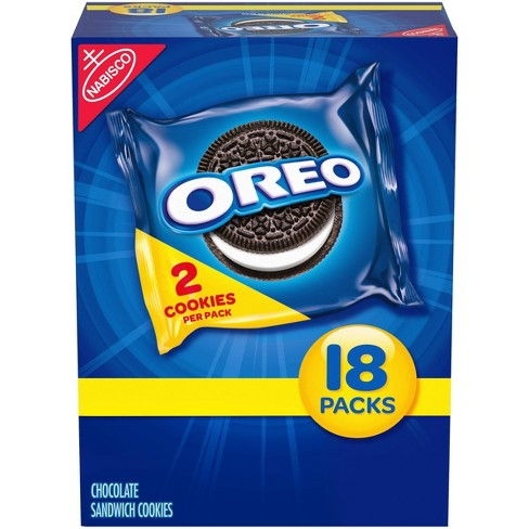 Oreo Chocolate Sandwich Cookies - Multipack - 18ct - image 1 of 4