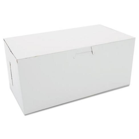 SCT Non-Window Bakery Boxes 9 x 5 x 4 White 250/Carton 0949 - image 1 of 1