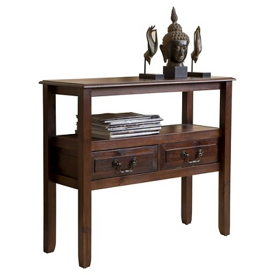 Grant End Table Mahogany - Christopher Knight Home