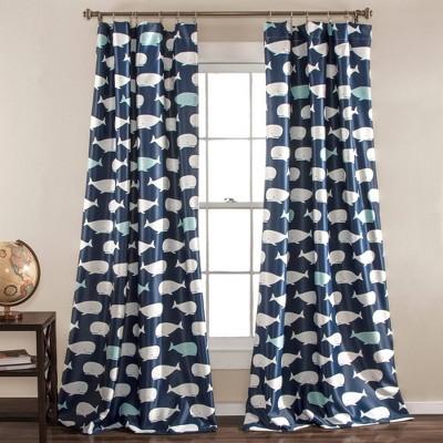 Whale Window Curtain - Lush Décor