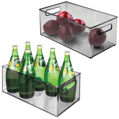 "mDesign Plastic Stackable Food Storage Organizer Bin, 14.5"" Long - image 1 of 4"