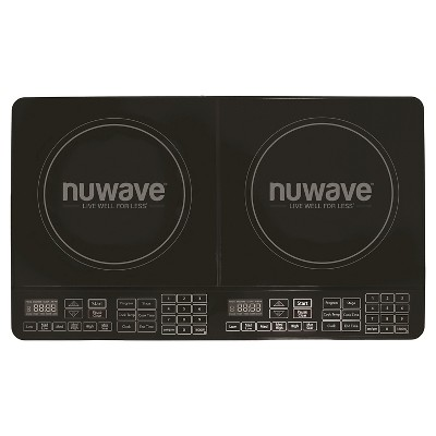 NuWave Double Precision Induction Cooktop Burner - Black 30602