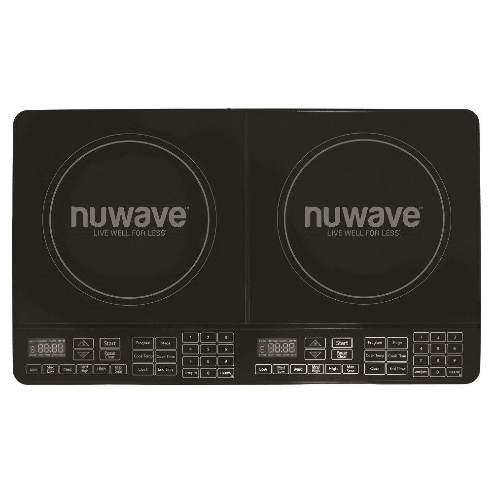 NuWave Double Precision Induction Cooktop Burner – Black 30602 51503918