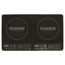 NuWave Double Precision Induction Cooktop Burner - Black 30602