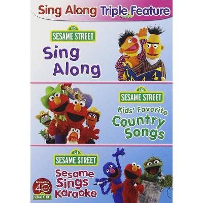 Sesame Street: Sing Along Fun Pack (DVD)(2010)