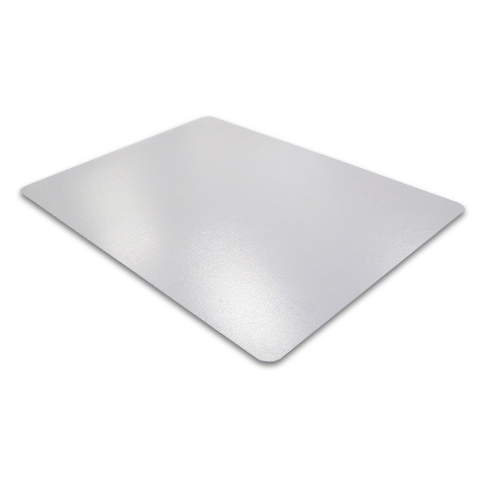 "Image of ""Advantage mat PVC Chair Mat for Low Pile Carpets Rectangular 30""""x48"""" - Cleartex"""