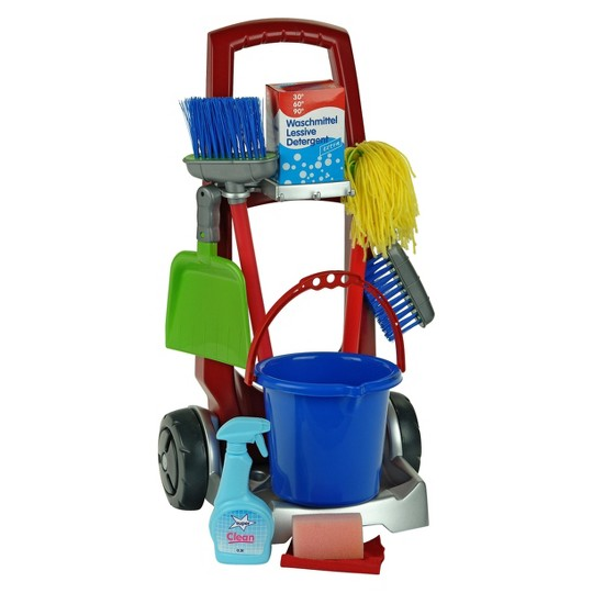 Theo Klein Cleaning Trolley image number null