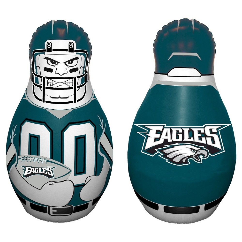 NFL Philadelphia Eagles Tackle Buddy Inflatable Punching Bag, Multi-Colored