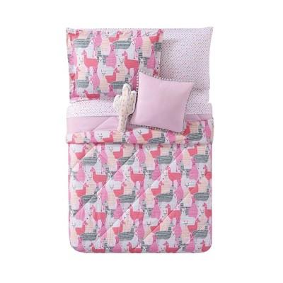 Full/Queen Llama Comforter Set - My World