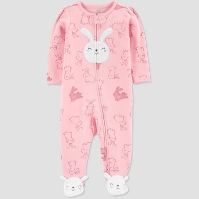 Baby Girls' Easter Bunny Sleep N' Play - Just One You® made by carter's Pink 3M