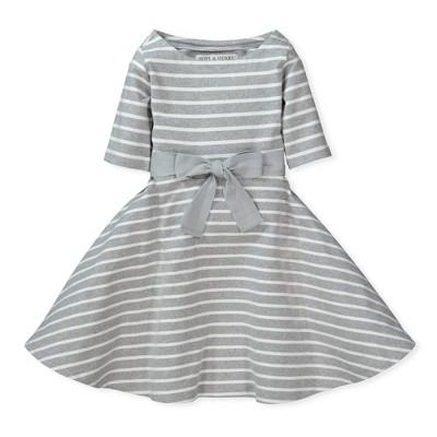 Hope & Henry Girls' Skater Dress, Infant