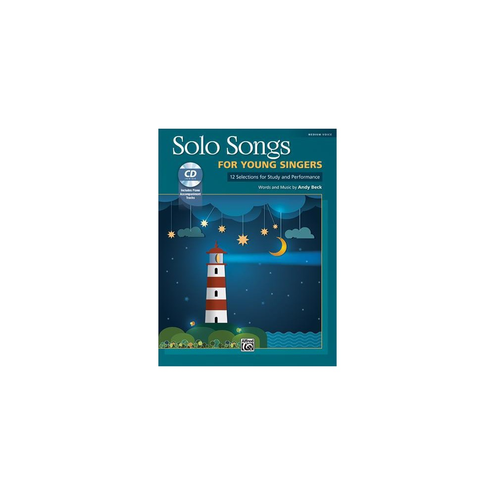 Solo Songs for Young Singers : 12 Selections for Study and Performance: Medium Voice - Pap/Com