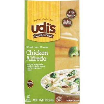 Udi's Gluten Free Frozen Chicken Penne Alfredo - 18oz