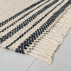 Jute Rug Charcoal Stripe - Hearth & Hand™ with Magnolia - image 2 of 4